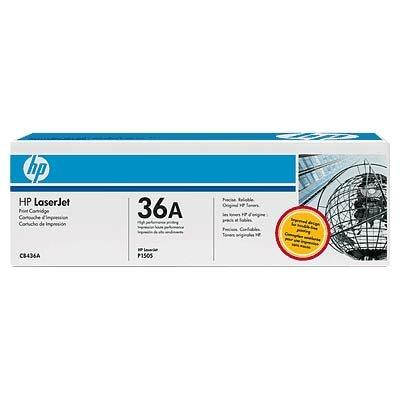 Foto HP 36A tóner monocromo negro 2000 pag. HP Laserjet