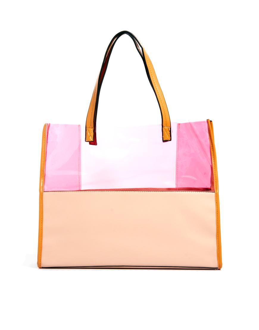 Foto Johnny Loves Rosie Tote Bag Pink