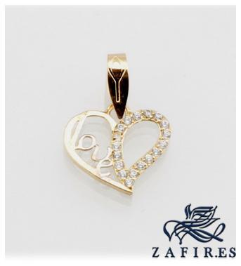68a8dc2f0cd4 Foto joyas del amor - rs81543 amor corazon zirconita - para senora