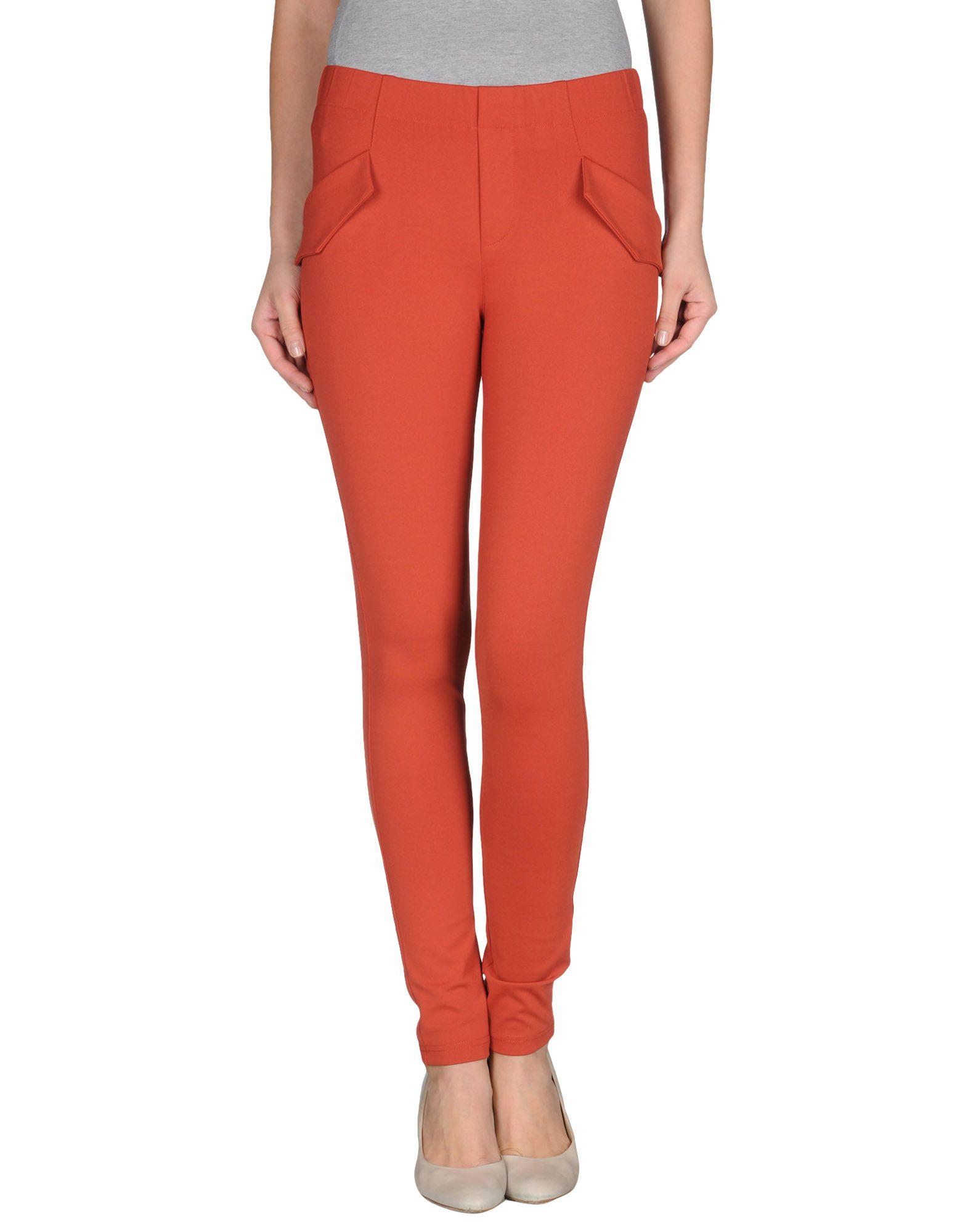Foto kling pantalones Mujer Ladrillo