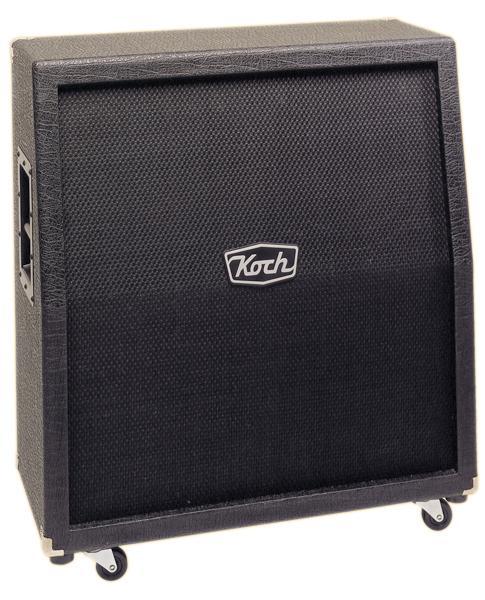 Foto Koch TS412 Slanted Black 4x12 Guitar Cabinet