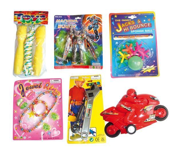 Foto Lote de 144 juguetes mixto (niño/niña) - 24 modelos x 6 piezas