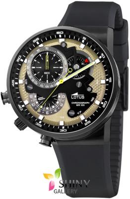 Foto Lotus Futurist 10102/4 Reloj Caucho Y Acero Para Hombre Nuevo Garantia 2 A�os