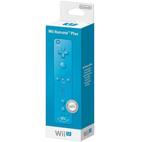 Foto Mando de control Remote Plus azul Wii U