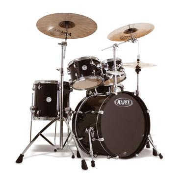 Foto Mapex Hxb5074 Fast Pack 5-Piece Drum Set