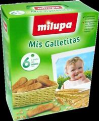 Foto milupa mis galletitas con glúten, 180 g