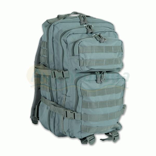 Foto Mochila MIL-TEC modelo 'Assault' de 50 litros de color stone grey