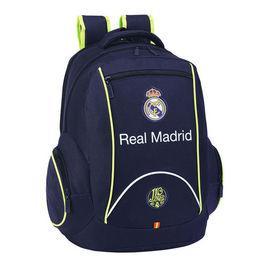 Foto Mochila Real Madrid Navy Blue doble grande