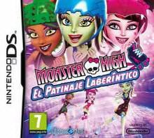 Foto Monster High Patinaje Laberintico - NDS