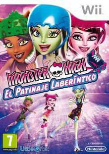 Foto Monster High Patinaje Laberintico - Wii