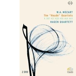 Foto Mozart - The Haydn Quartets (2 Dvd)
