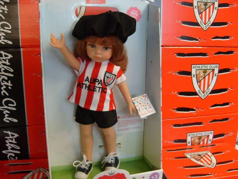 Foto Muñeca modelo del Athletic Club de Bilbao.