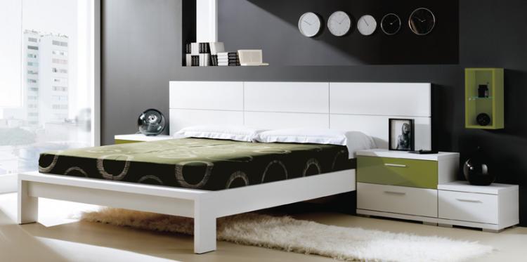 Foto Muebles dormitorio moderno alfa 001