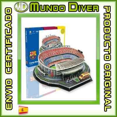 Foto Nanostad Cnret - Estadio Camp Nou, Puzzle 3d Barça - Nuevo Y Precintado