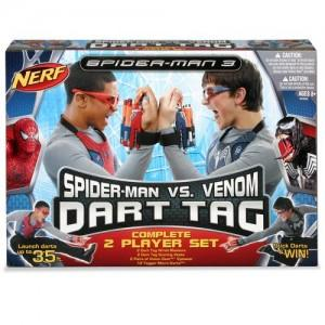 Foto Nerf dart tag spiderman vs venon