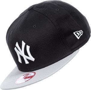 Foto Gorra New Era New Era Jersey Pop New York Yankees Gris-Negro ... e7dbfb4a5b4
