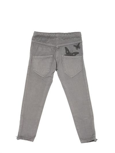 Foto new generals jeans de algodón estampado mariposa de 5 bolsillos