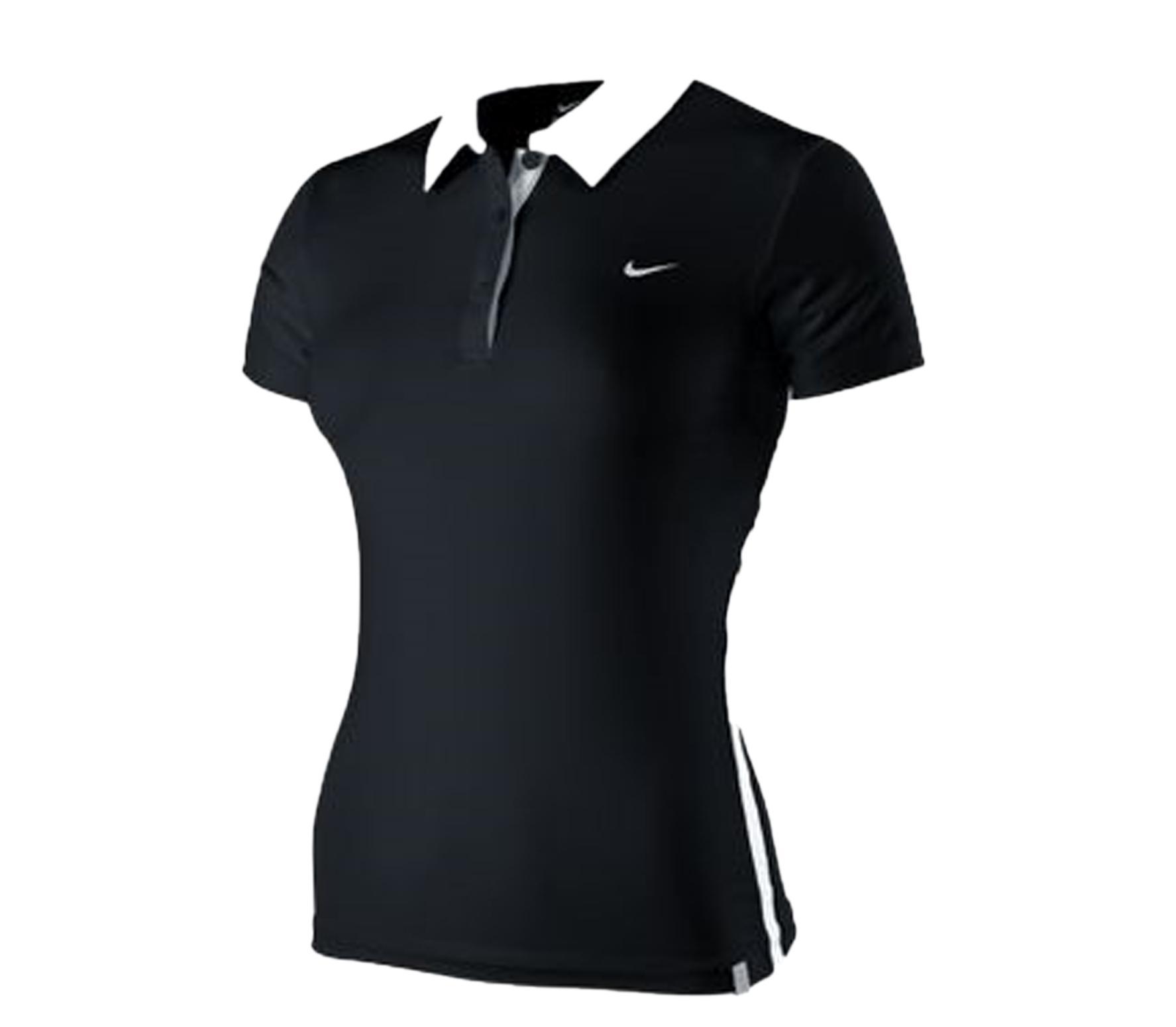 Foto Nike - Border Polo - negro/blanco - Ropa de tenis