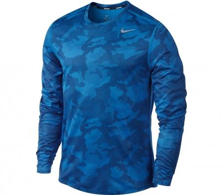 Foto Nike - Camiseta running Hombre Subimated Longsleeve Camo - HO12 - L