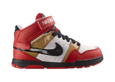 Foto Nike Mogan Mid 2 Jr. Zapatillas - Chicos - Rojo/Negro - 5.5Y