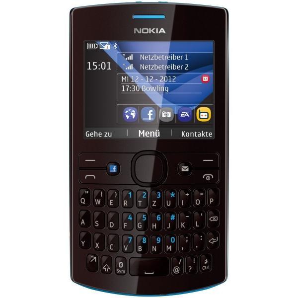 Foto Nokia Asha 205 (cyan/dark rose)