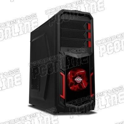 Foto Nox caja semitorre atx nx-3 sin fuente negro