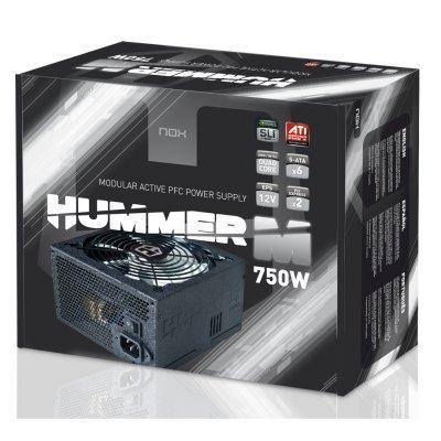 Foto Nox Fuente Alimentación Hummer 750w Pfc Activo