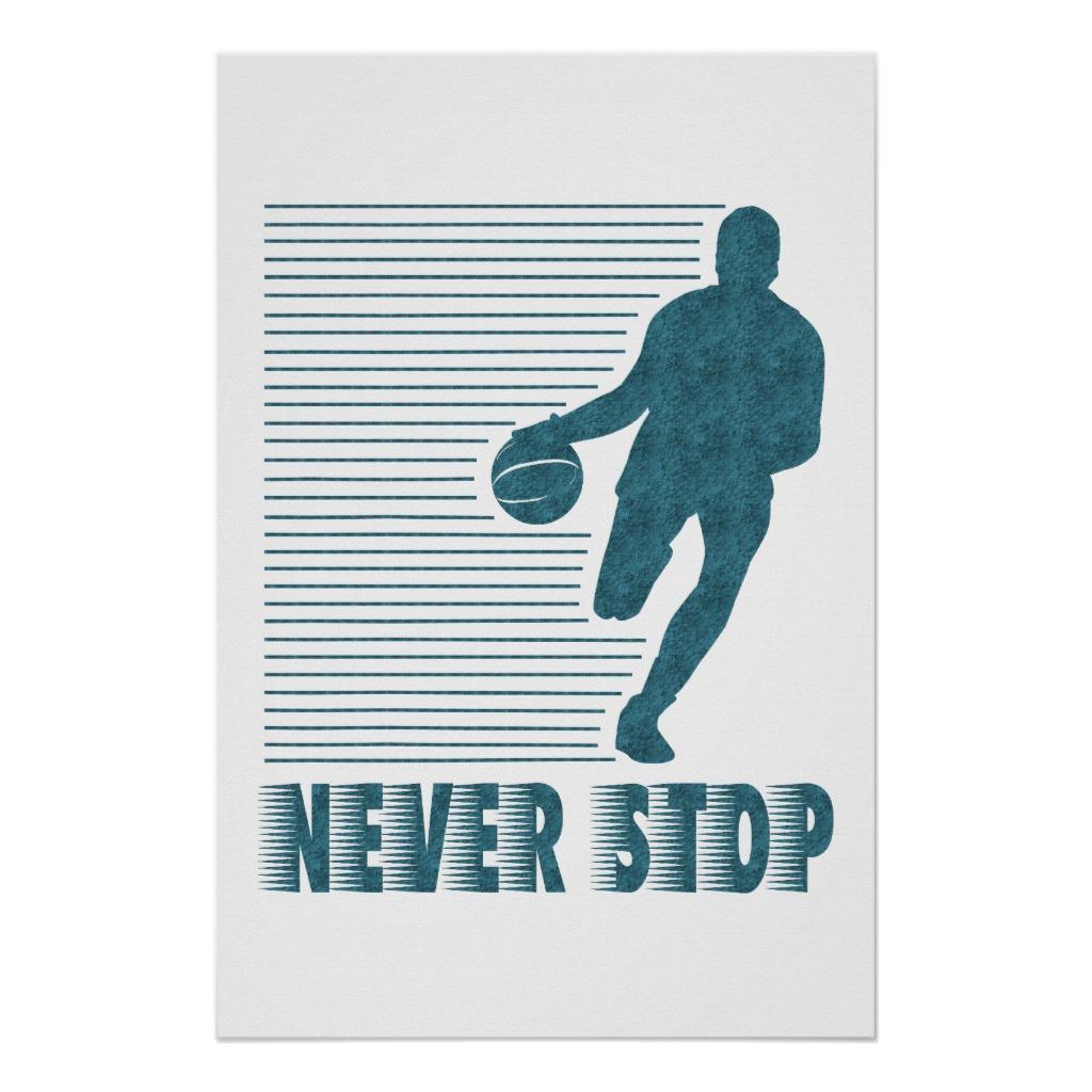 Foto Nunca pare: Baloncesto Poster
