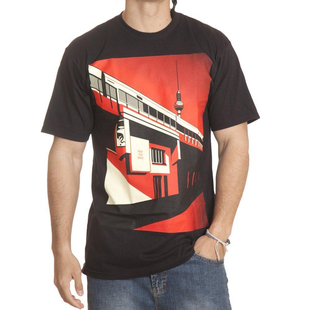 Foto Obey Camiseta Obey: Berltin Tower BK Talla: L