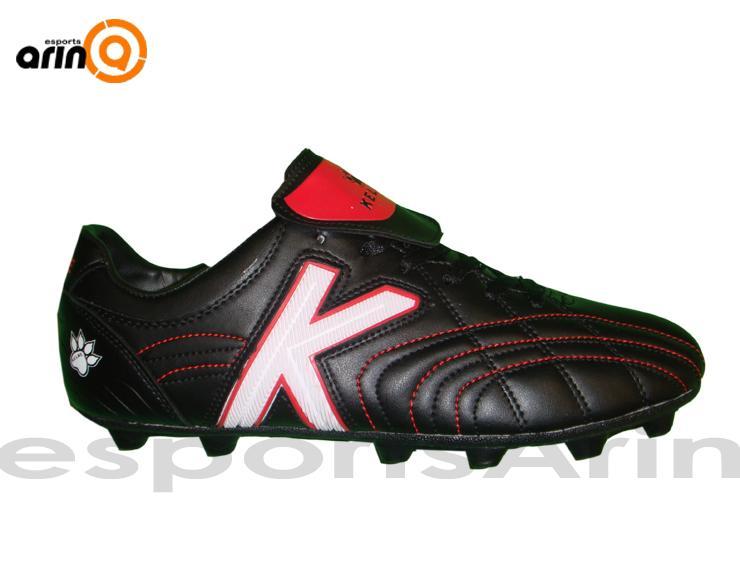 Foto Oferta Botas fútbol Kelme Rubber negro blanco - Envio 24h foto ... 735394296cbef