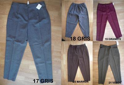 Foto Oferta Unica Lote 5 Pantalones Mujer Talla 50 Nuevos