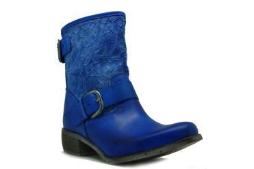 Foto Ofertas de botines de mujer Fluxa 400 azul