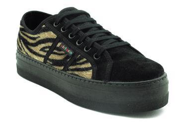 Foto Ofertas de zapatillas de mujer Victoria 09208 leopardonegro