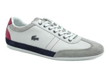Foto Ofertas de zapatos de hombre Lacoste MISANO15-LACOSTE blanco