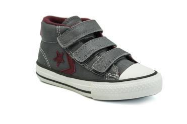 Foto Ofertas de zapatos de niña Converse 741113 gris
