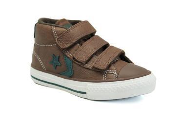Foto Ofertas de zapatos de niña Converse 741113 marron