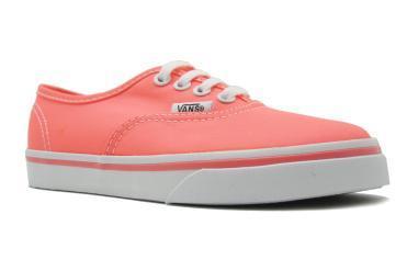Foto Ofertas de zapatos de niña Vans Authentic Low rosa