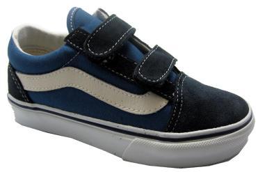 Foto Ofertas de zapatos de niña Vans Old Skool Velcro azul
