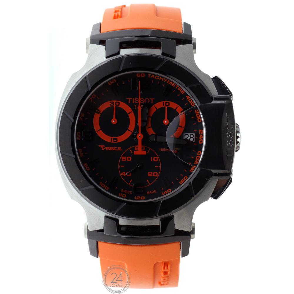 Foto Outlet Reloj Tissot T-Race Naranja T0484172705704