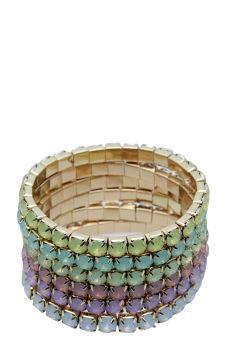 Foto Pack pulseras de pedrería