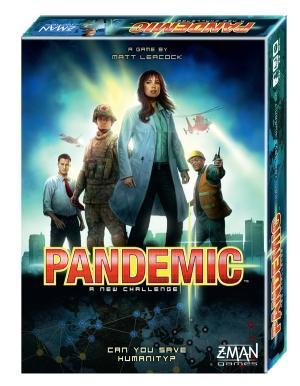 Foto Pandemic Juego En Inglés