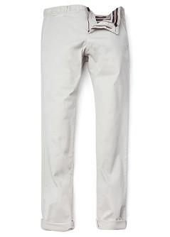 Foto Pantalón Chino Slim-Fit offwhite H.E. by MANGO