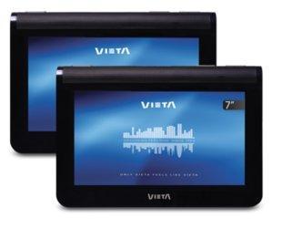 Foto pantallas coche - vieta vm-hs247bk doble pantalla 7