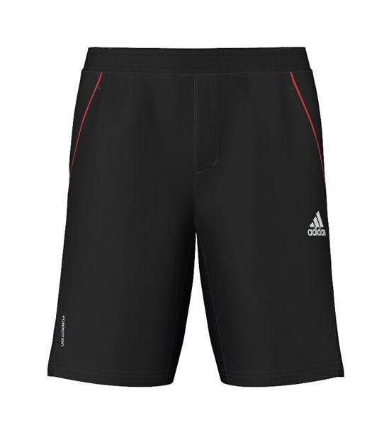 Foto Pantalones cortos Adidas Barricade Short 95 Black / White / Hierere