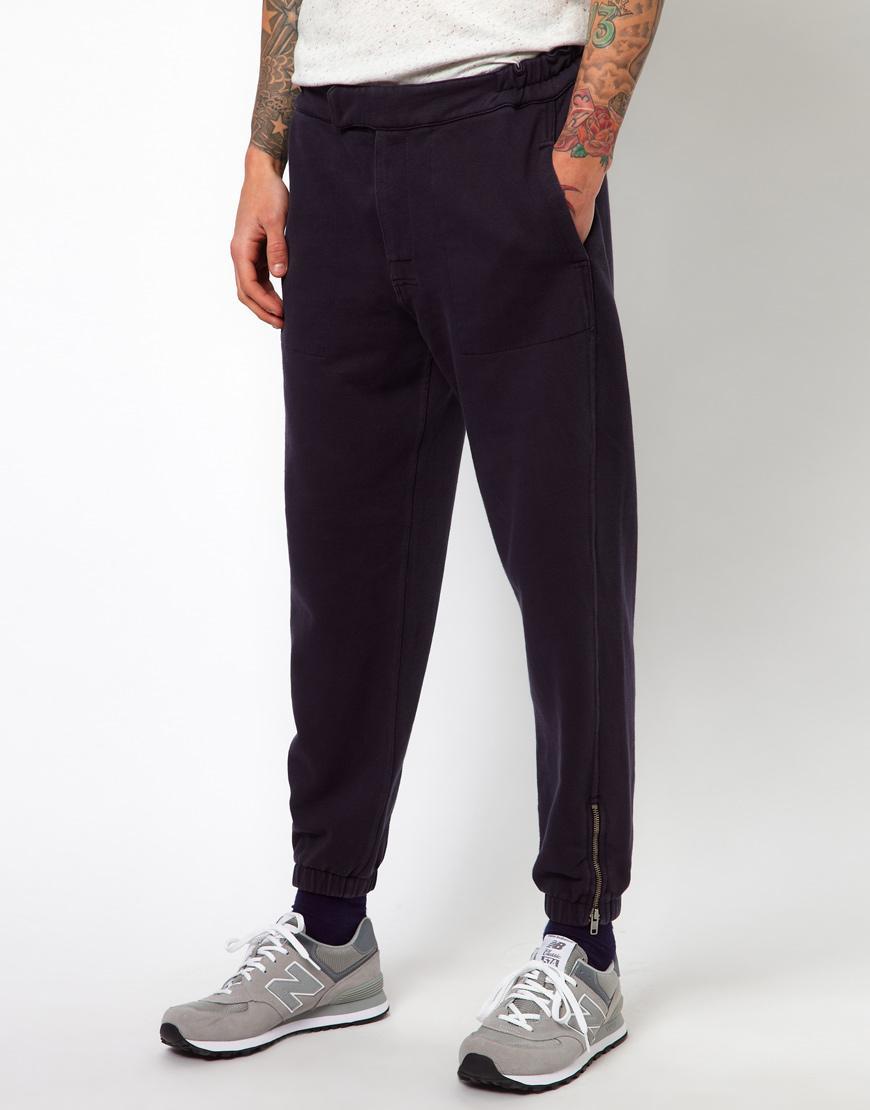 Foto Pantalones de chándal holgados de YMC Azul marino