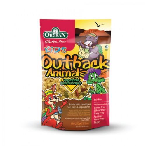 Foto Pasta Outback Animals 200 gr (Orgran)