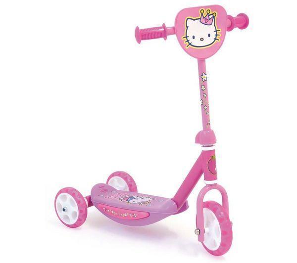 Foto Patinete 3 ruedas Hello Kitty + PORTEUR HELLO KITTY