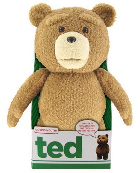 Foto Peluche Ted: Oso Ted Con Sonido Y Movimiento 40 cm