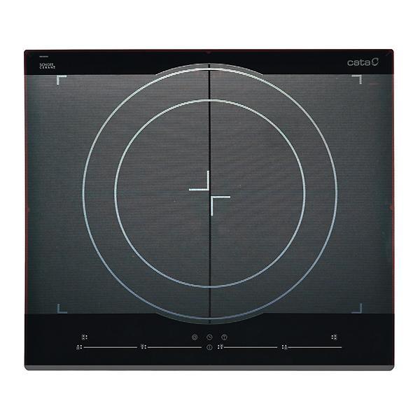 Foto Placa de inducción Cata Giga sin zonas delimitadas