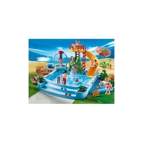Foto Playmobil Piscina Con Tobogán